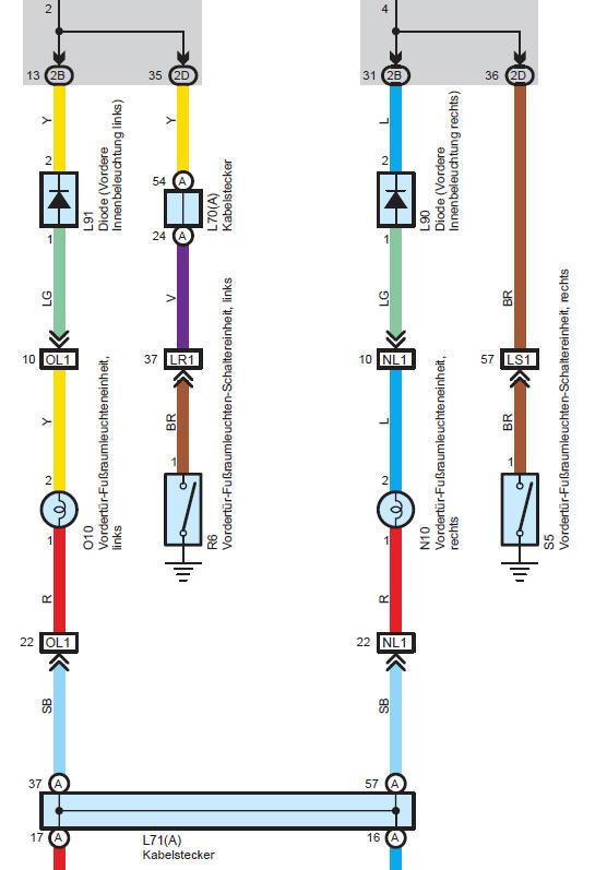 Wunderbar Toyota Schaltplan Galerie - Die Besten Elektrischen ...