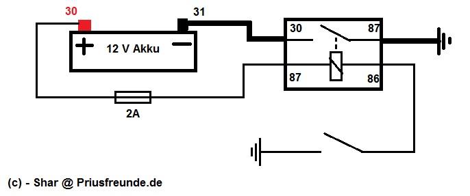 Auris 1: 12V-Batterietrennschalter einbauen. Wie? - PRIUSforum